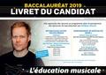 Philippe Morant - L'éducation musicale, Baccalauréat, Option facultative, toutes séries, Enseignement de spécialité, Série L - Livret du candidat.