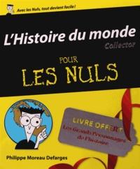 Philippe Moreau Defarges - L'Histoire du monde pour les Nuls - Coffret collector 2 volumes.