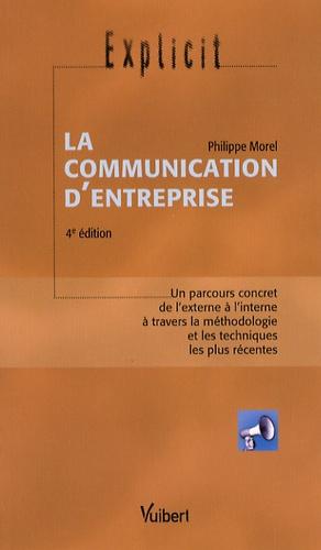 Philippe Morel - La communication d'entreprise.
