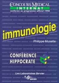Birrascarampola.it IMMUNOLOGIE. - Edition conforme au programme officiel 1998 de l'internat Image