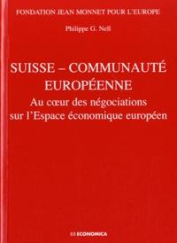 Suisse - Communauté européenne - Au coeur des négociations sur lEspace économique européen.pdf