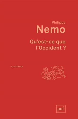 Philippe Nemo - Qu'est-ce que l'Occident ?.