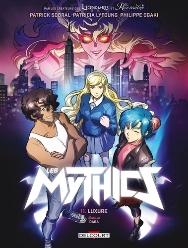 Les Mythics Tome 11 Luxure