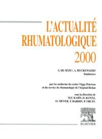 Philippe Orcel et Thomas Bardin - L'actualité rhumatologique 2000.