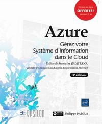 Philippe Païola - Microsoft Azure - Gérez votre système d'information dans le cloud.