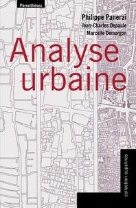 Philippe Panerai - Analyse urbaine.