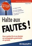 Philippe Payen - Halte aux fautes !.