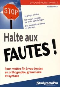Galabria.be Halte aux fautes! Image