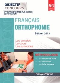 Français Orthophonie - Philippe Perrine |