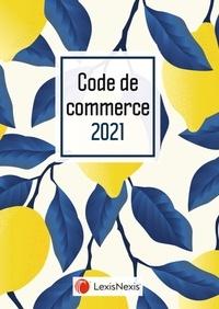Philippe Pétel - Code de commerce - Jaquette Lemon.
