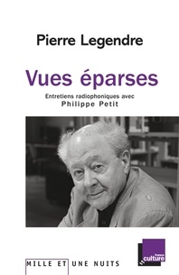 Philippe Petit et Pierre Legendre - Vues éparses. Entretiens radiophoniques avec Philippe Petit.