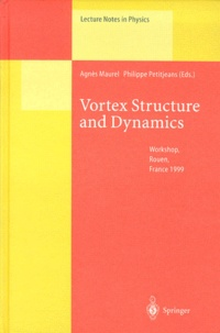 Philippe Petitjeans et Agnès Maurel - Vortex Structure and Dynamics. - Workshop, Rouen, France 1999.