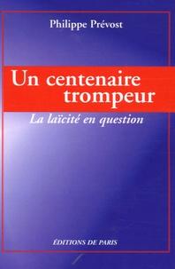 Accentsonline.fr Un centenaire trompeur - La laïcité en question Image