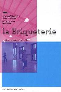 Philippe Prost - La briqueterie - Une architecture pour la danse.