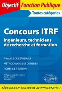 Philippe Quillien et Méo nicolas Di - Concours ITRF Ingénieurs, Techniciens de Recherche et Formation de catégorie A, B et C.
