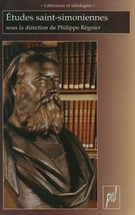 Philippe Régnier - Etudes saint-simoniennes.
