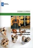 Philippe Reiffsteck - Paramètres de forage en géotechnique - Méthode d'essai n° 79.