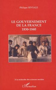Le gouvernement de la France - 1830-1840.pdf