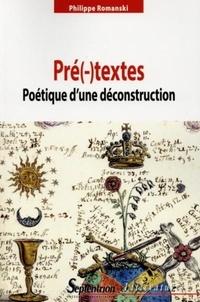 Pré(-)textes - Poétique dune déconstruction.pdf