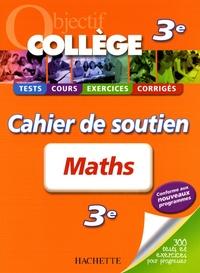 Deedr.fr Maths 3e - Cahier de soutien Image