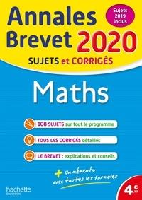PDF gratuit ebook Maths 3e  - Sujets et corrigés en francais 9782017081654  par Philippe Rousseau