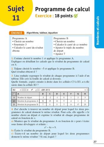Maths 3e  Edition 2021