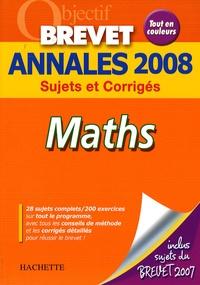 Cjtaboo.be Maths Brevet - Annales 2008 Image