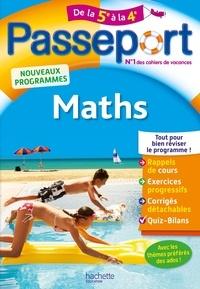 Philippe Rousseau - Passeport Maths de la 5e à la 4e.