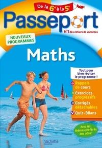 Philippe Rousseau - Passeport Maths de la 6e à la 5e.