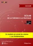 Philippe Roux - Scilab : De la théorie à la pratique - Calculer - MODULE EXTRAIT DU LIVRE Scilab : De la théorie à la pratique - I. Les fondamentaux.