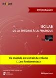 Philippe Roux - Scilab : De la théorie à la pratique - Programmer - MODULE EXTRAIT DU LIVRE Scilab : De la théorie à la pratique - I. Les fondamentaux.