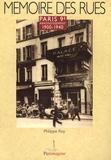 Philippe Roy - Paris 9e arrondissement - 1900-1940.