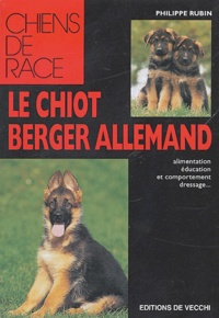 Philippe Rubin - Le chiot berger allemand.