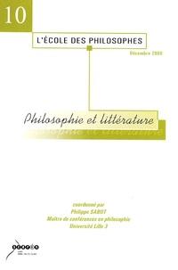 Philippe Sabot - Philosophie et littérature.