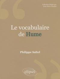 Philippe Saltel - Le vocabulaire de Hume.