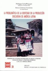 Philippe Schaffhauser - La problemática de la identidad en la producción discursiva de américa latina.