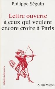 Philippe Séguin - .