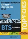 Philippe Senaux et Dorothée Soret-Catteau - Economie génerale, Economie d'entreprise, Droit BTS tertiaires. 1 Cédérom