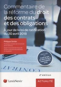 Philippe Simler - Commentaire de la réforme du droit des contrats et des obligations.