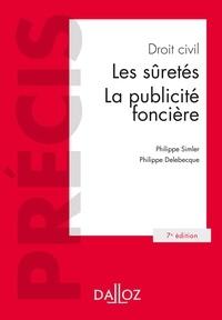 Philippe Simler et  Delebecque - Droit civil. Les suretés, la publicité foncière.