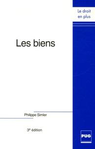 Philippe Simler - Les biens.