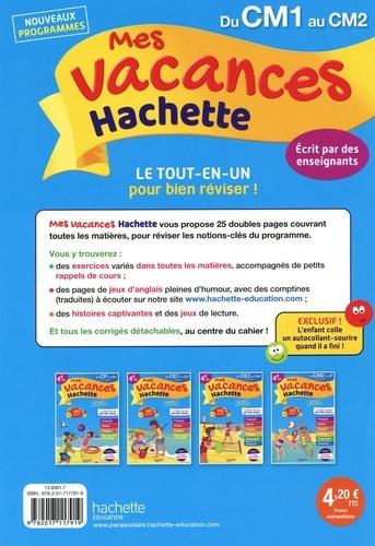 Mes vacances Hachette du CM1 au CM2  Edition 2020
