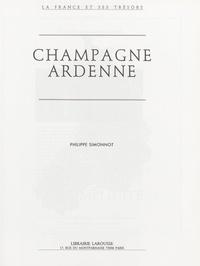Philippe Simonnot et Jacques de Bourbon Busset - Champagne Ardenne.