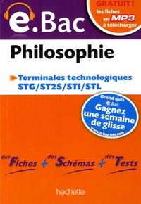 Philippe Solal - Philosophie Terminales technologiques e.bac.