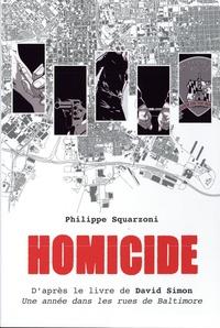 Philippe Squarzoni - Homicide Intégrale : Une année dans les rues de Baltimore - Coffret en 5 volumes.