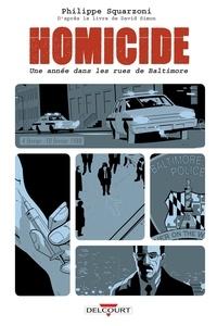 Philippe Squarzoni - Homicide, une année dans les rues de Baltimore T02 - 4 février- 10 février 1988.