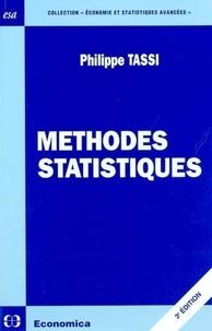 Philippe Tassi - Méthodes statistiques.