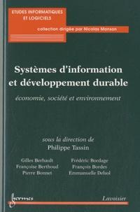 Philippe Tassin - Systèmes d'information et développement durable - Economie, société et environnement.
