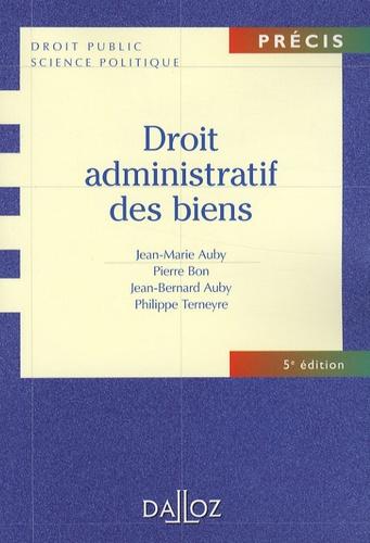 Philippe Terneyre et Jean-Marie Auby - Droit administratif des biens.