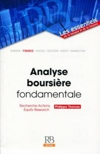 Philippe Thomas - Analyse boursière fondamentale.
